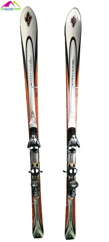 ski occasion k2 escape orange