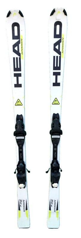ski occasion pas cher head super shape yellow white