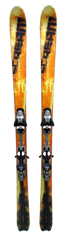 ski occasion polyvalent salomon scream yellow