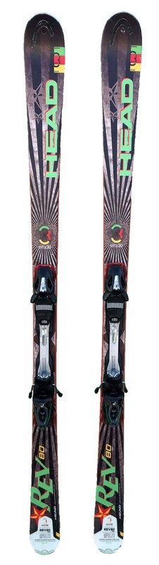 ski occasion polyvalent head rev 80 black