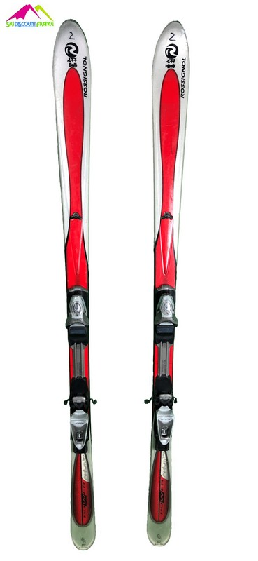 ski occasion rossignol power axium rouge blanc