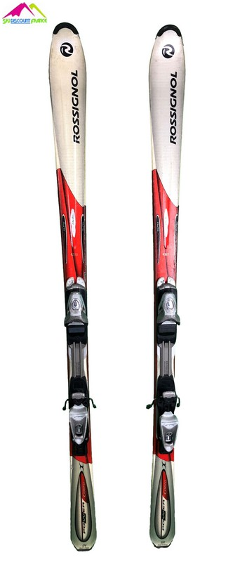 ski occasion rossignol power cobra bicolore