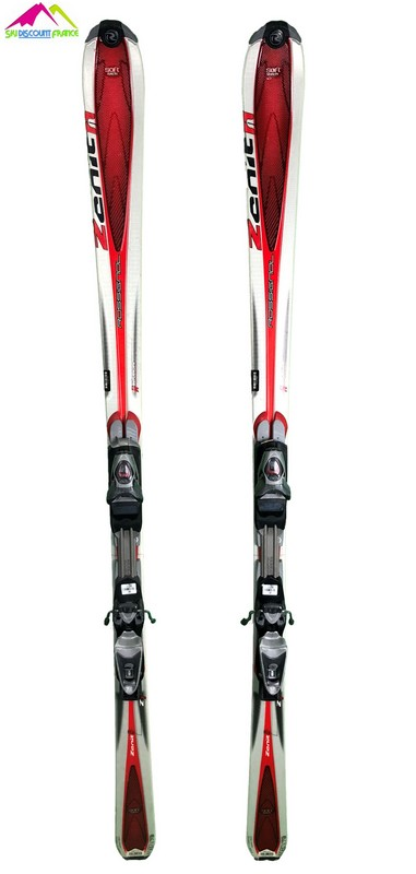 ski occasion pas cher rossignol zenith 1 rouge gris