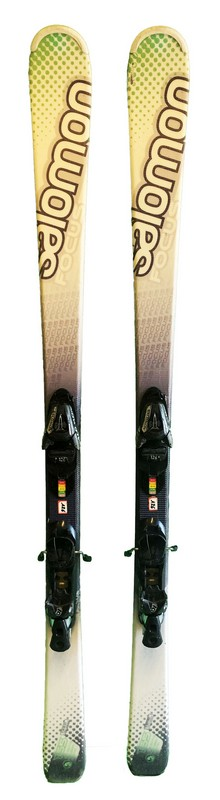 ski occasion salomon focus green