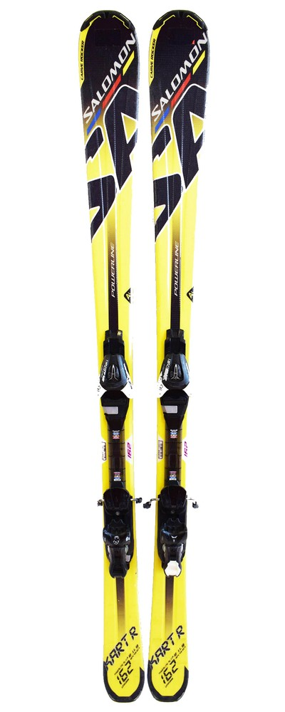 ski polyvalent occasion salomon kart sport green yellow