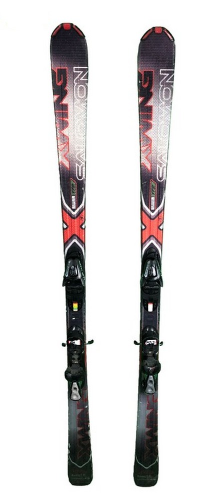 ski occasion salomon x wing 8r rouge
