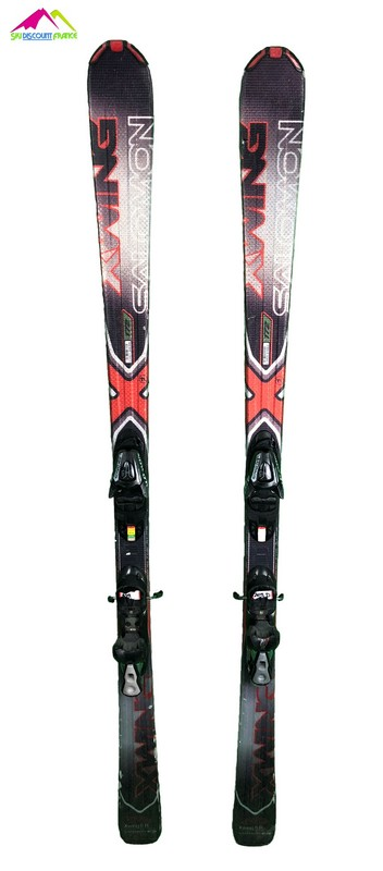 ski occasion all mountain salomon x wing 6 rouge