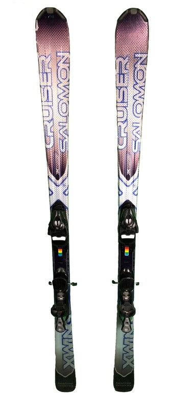 ski occasion salomon x wing cruiser ti bleu