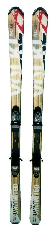 ski occasion volkl unlimited ac 7.4