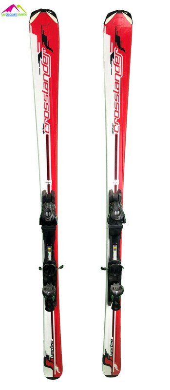 ski occasion wedze crosslander white red
