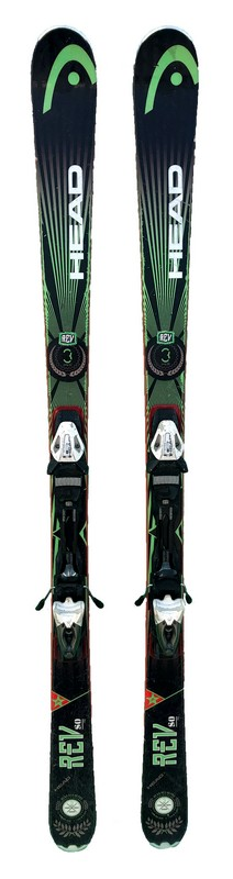 ski occasion pas cher head rev 80pro black green