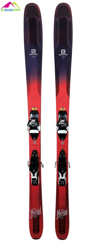 ski All mountain femme salomon qst myriad 85 2018 test
