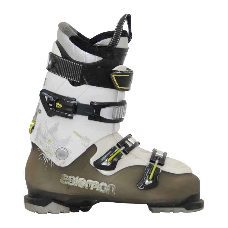 chaussures de ski occasion salomon quest kaki