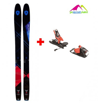 Pack Ski Neuf Dynastar Cham 107 2.0 Taille 174cm 2017 + Fixations SPX 12 Dual WTR B120 BLK RED