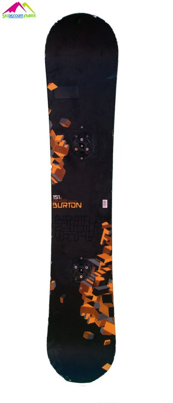 snowboard burton occasion cruzer v rocker black orange