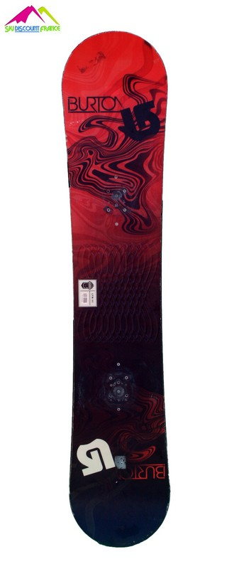 snowboard occasion burton ltr black red vague