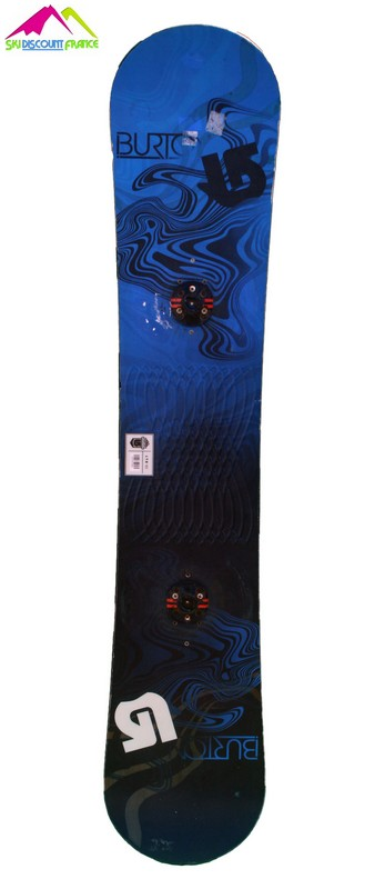 snowboard burton occasion ltr black blue vague