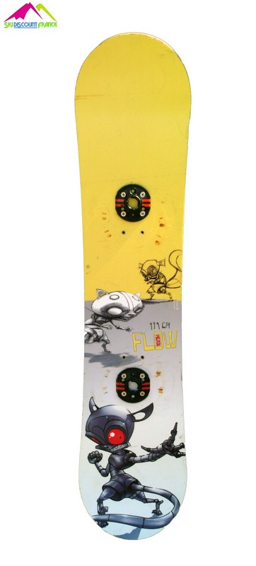 snowboard junior occasion flow micron yellow