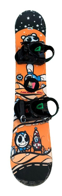 snowboard enfant occasion nidecker c wood