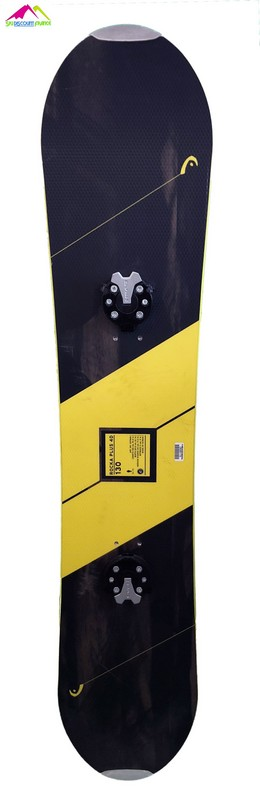 snowboard junior pas cher head rocka plus black yellow