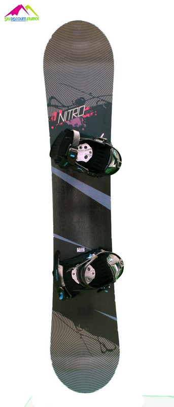 snowboard occasion nitro lectra taches roses