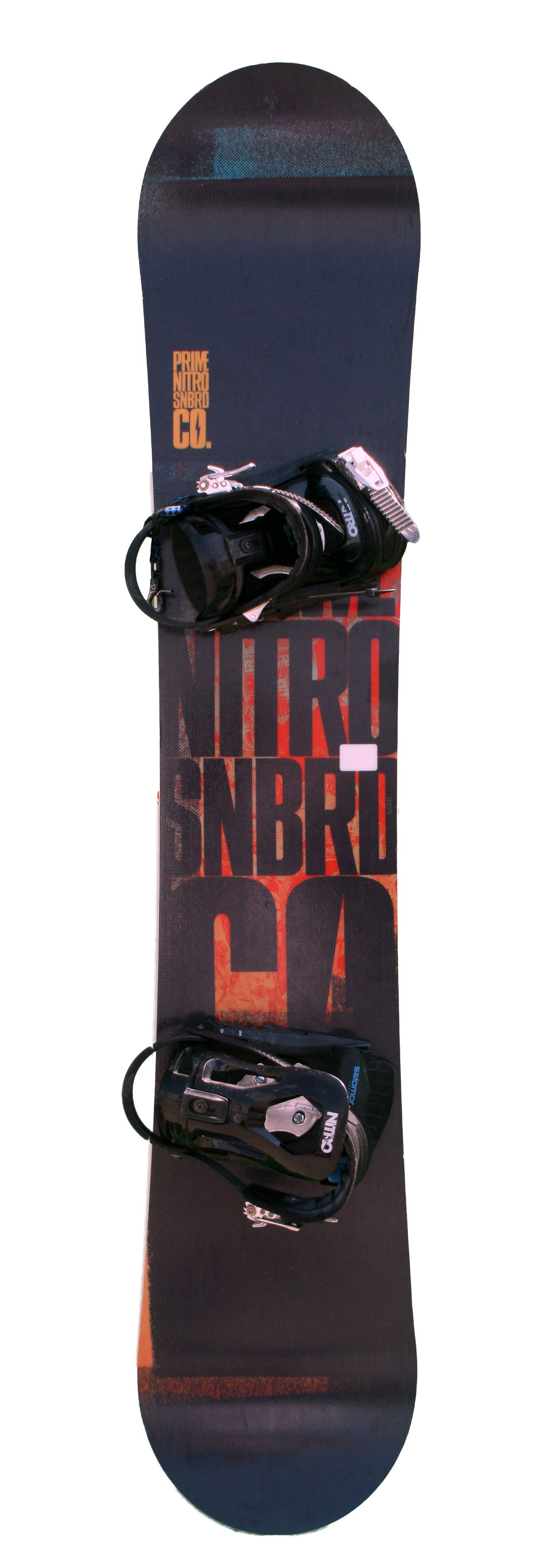 snowboard occasion nitro prime black orange