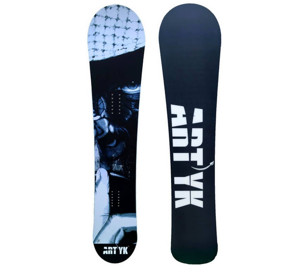 Snowboard Neuf Adulte Artyk Collab Hugues Amblard Taille 153cm, 158cm