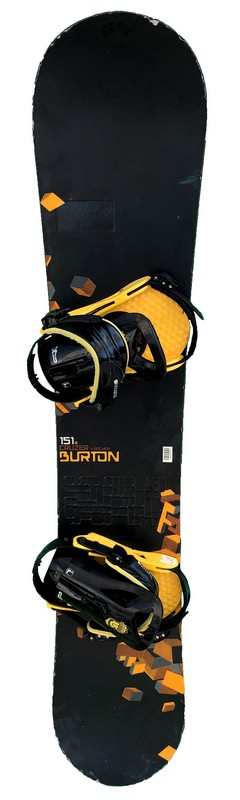 snowboard occasion burton cruzer v rocker black orange