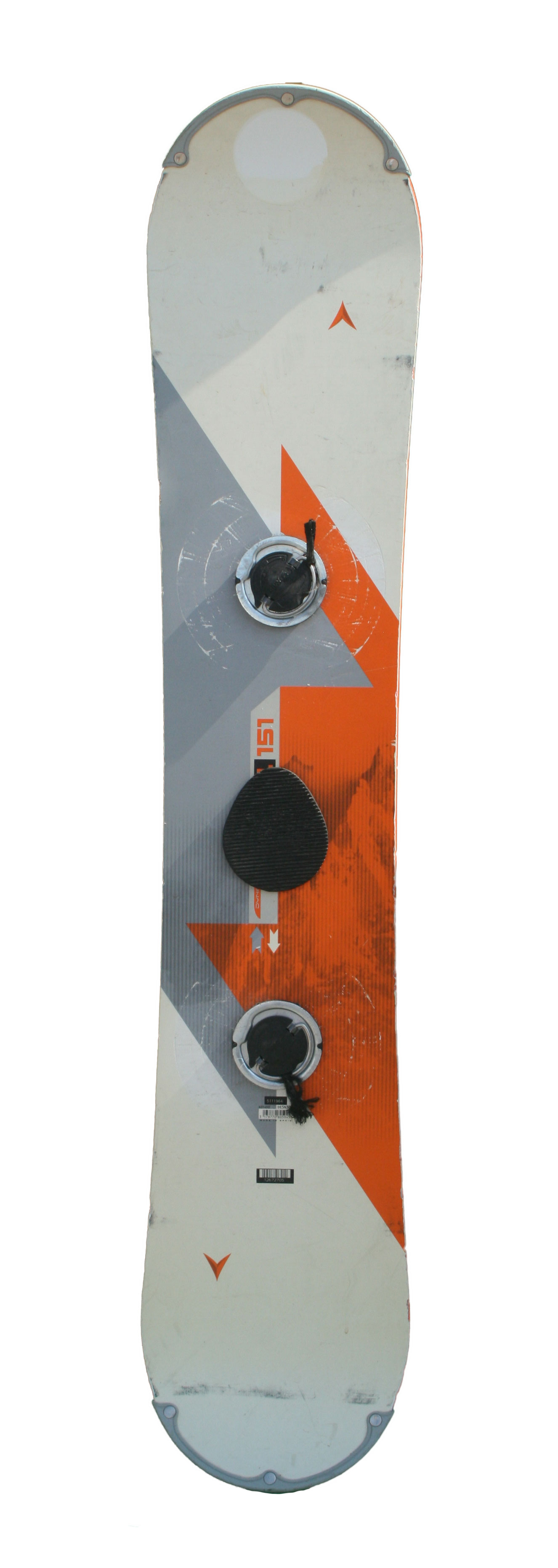 snowboard occasion dynastar grey orange