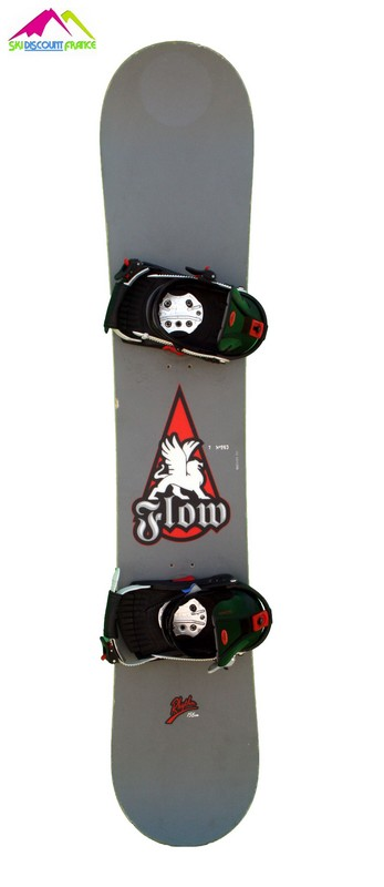 snowboard occasion pas cher flow rythm grey red