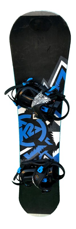 snowboard enfant occasion k2 rental black blue