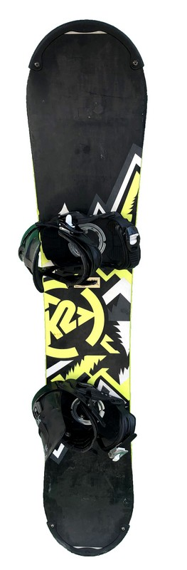 snowboard occasion pas cher k2 rental black yellow