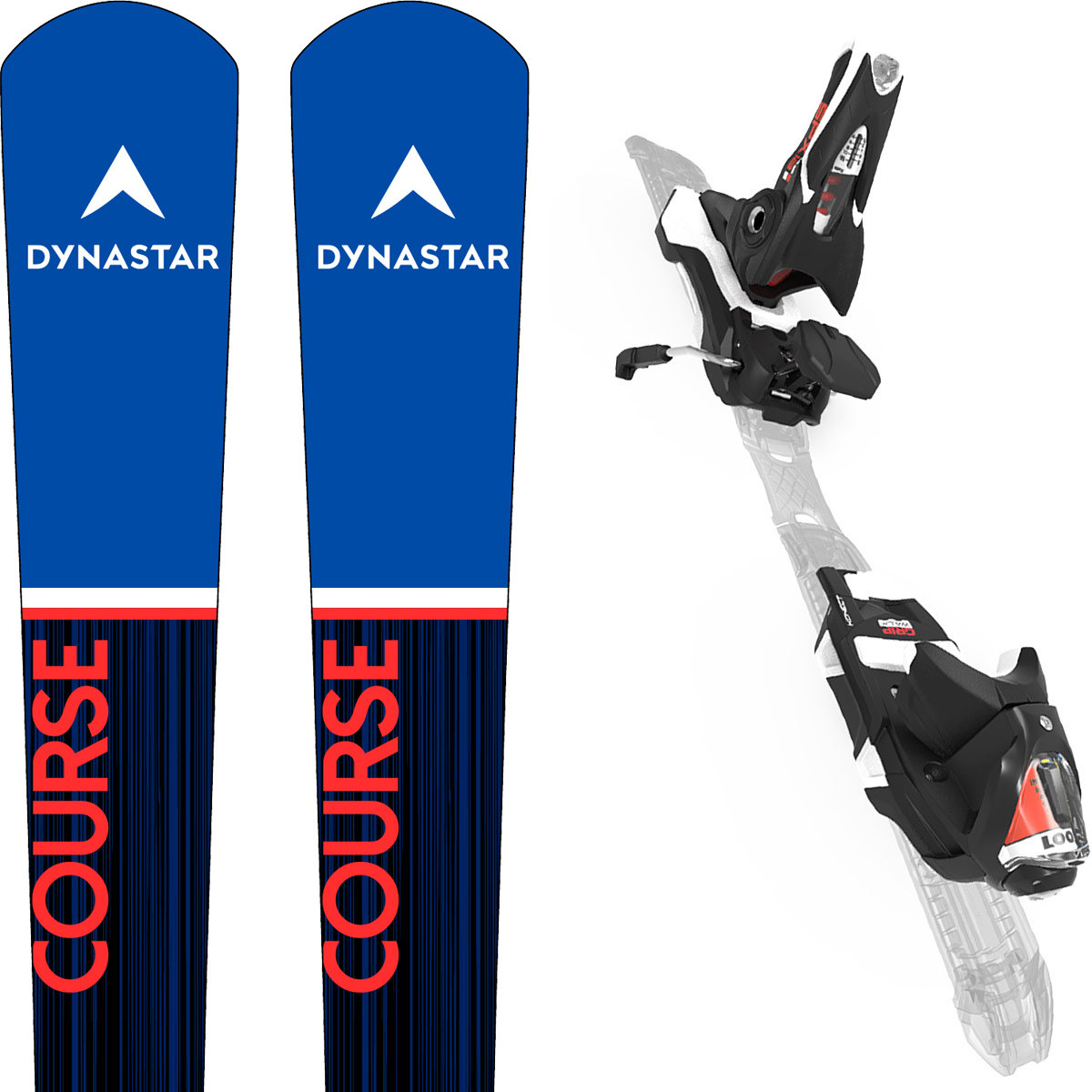 Dynastar Omegaless Master GS Konect 2021 + Fix Look Spx 12 Konect Black Taille 173cm
