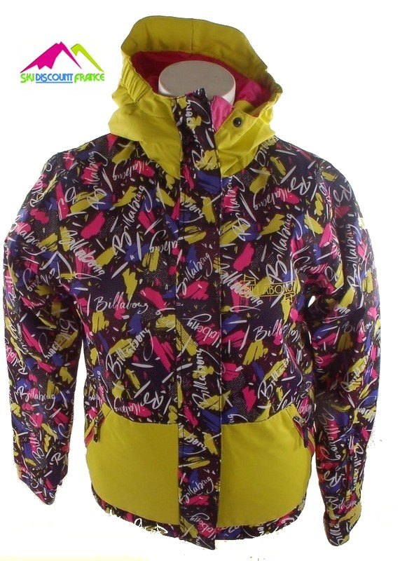 Veste de ski junior petit prix billabong sally