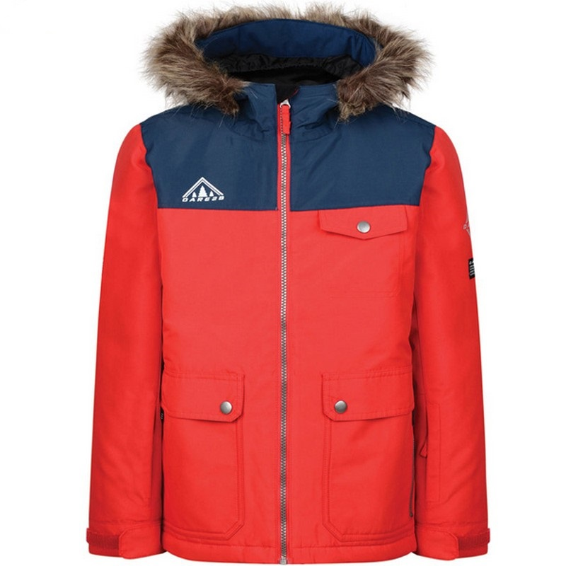 veste de ski junior dare 2b reckless red