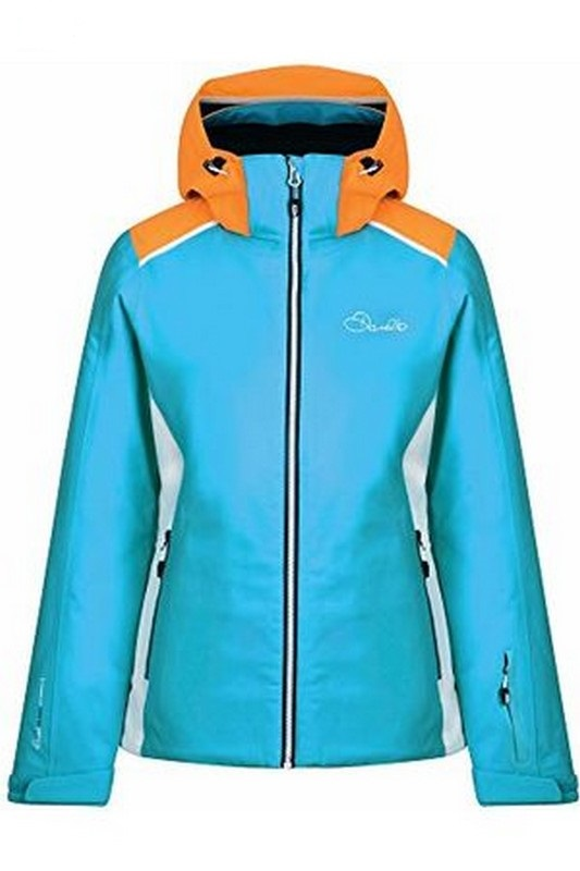 veste de ski femme dare 2b inflect aqua orange