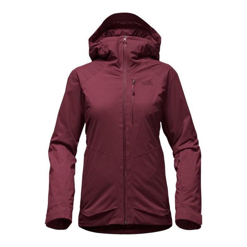 veste de ski femme the north face w sickline garnet red