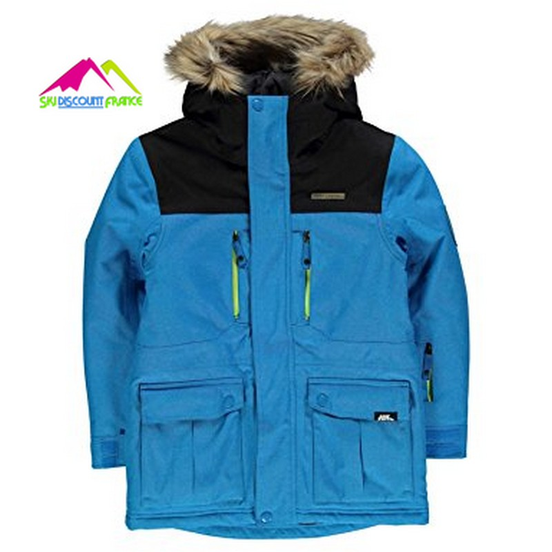 Veste de ski junior chaude no fear boost ski jkt blue