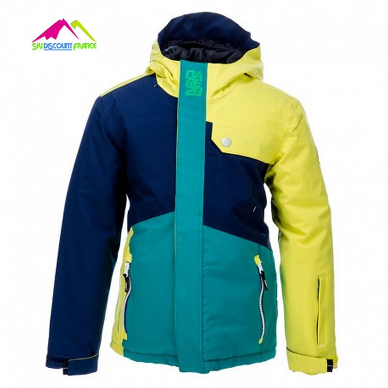 Veste de ski junior etanche dare 2b rouse up 9/10ans