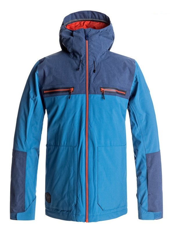 veste de ski quiksilver arrow wood jacket blue