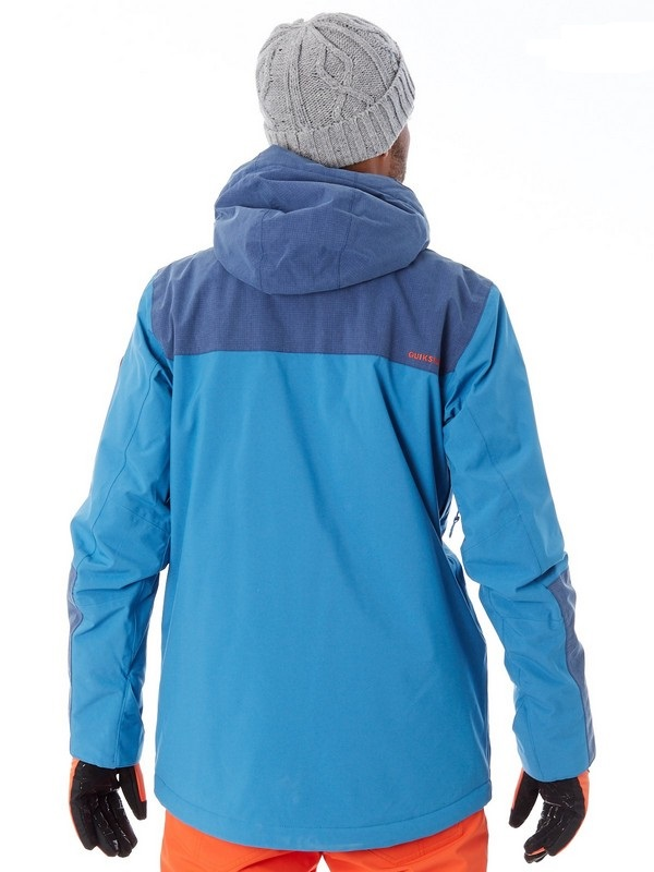 quiksilver arrow wood jacket blue