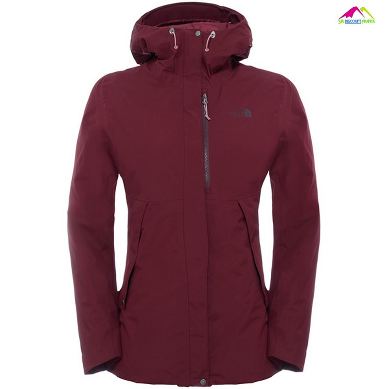 veste femme the north face torendo jkt deep garnet red
